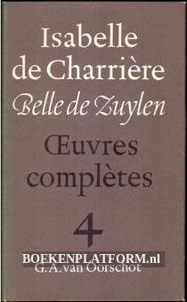 Isabelle de Charriere 4
