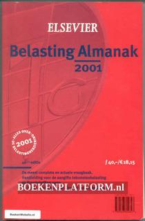 Belasting Almanak 2001