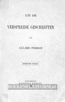 Uit de verspreide geschriften van Allard Pierson 1