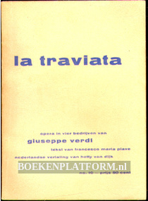 La Traviata, tekstboekje