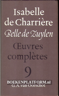 Isabelle de Charriere 9