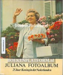 Juliana fotoalbum 25 jaar Koningin der Nederlanden