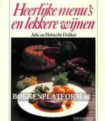 Heerlijke menu's en lekkere wijnen
