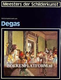 Het komplete werk van Degas