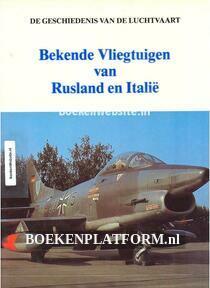 Bekende Vliegtuigen van Rusland en Italie