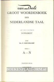 Van Dale Groot Woordenboek der Nederlandse taal 2 delig