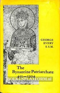 The Byzantine Patriarchate 451-1204