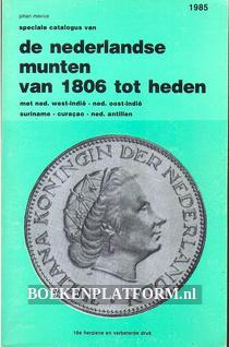 Der Nederlandse munten van 1806 tot heden 1985