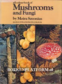All Colourbook of Mushrooms and Fungi