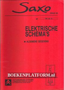 Citroen Saxo, Elektrische schema's algemene gegevens