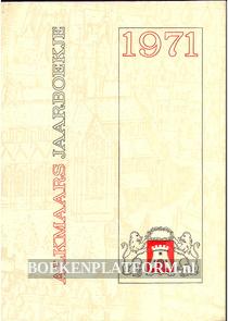 Alkmaars jaarboekje 1971