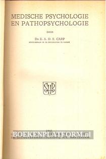 Medische Psychologie en Pathopsychologie I