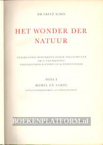 Het wonder der natuur I