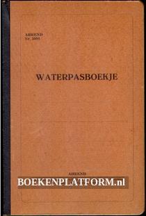 Waterpasboekje