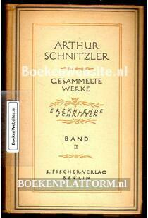 Arthur Schnitzler, gesammelte Werke 2