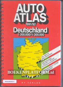 Auto atlas Deutschland 1991/92