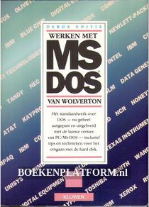 Werken met MS-DOS