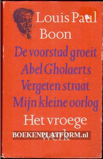 Het vroege werk, Louis Paul Boon