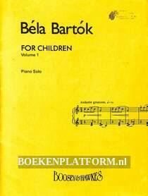 Bela Bartok for Children vol. 1