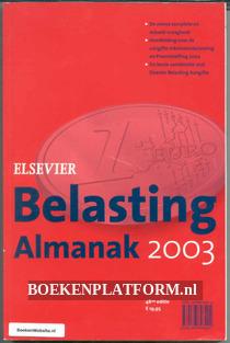 Belasting Almanak 2003