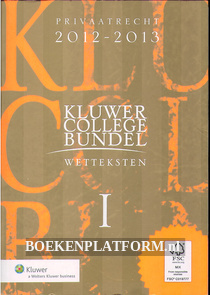 Kluwer college bundel, wetteksten I