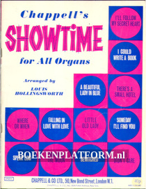 Chappel's Showtime for All Organs