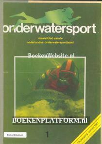 Onderwatersport magazine  1981 Ingebonden