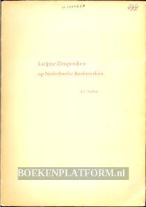 Latijnse Zinspreuken op Nederlandse Boekmerken