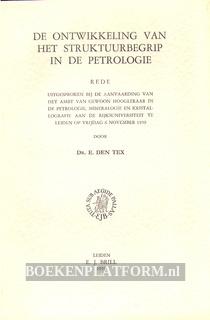 De ontwikkeling van het struktuurbegrip in de petrologie