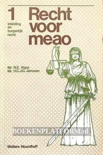 Recht voor MEAO 1