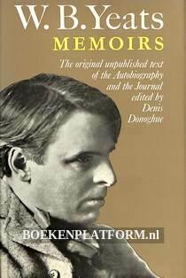 W.B. Yeats Memoirs