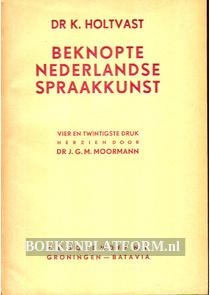 Beknopte Nederlandse spraakkunst