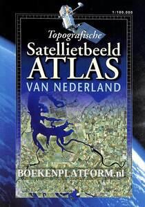 Topografische satellietbeeld Atlas van Nederland