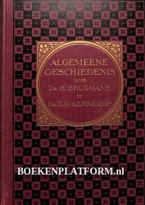 Algemeene geschiedenis, middeleeuwen