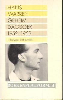 Geheim dagboek 1952-1953