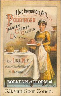 Het bereiden van Puddingen enz.