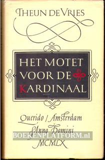 Het motet voor de kardinaal
