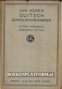 van Goor's Duitsch schoolwoordenboek