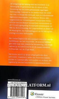 Memo Huurrecht 2011-2012