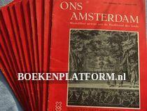 Ons Amsterdam 1958 Complete jaargang