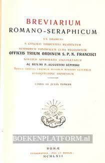 Brevarium Romano-Seraphicum