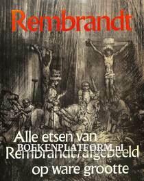 Alle etsen van Rembrandt afgebeeld opware grootte