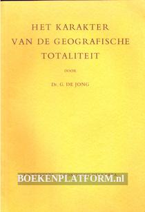 Het karakter van de geografische totaliteit
