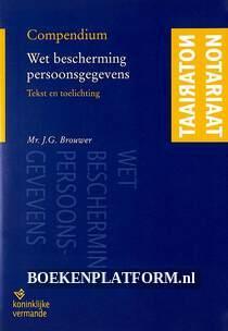 Compendium Wet bescherming persoonsgegevens