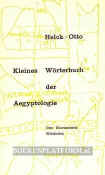 Kleines Wörterbuch der Aegyptologie