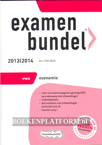 Examenbundel VWO Economie 2013/2014