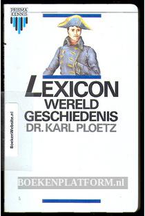 Lexicon Wereld geschiedenis
