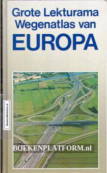 Grote Lekturama Wegenatlas van Europa