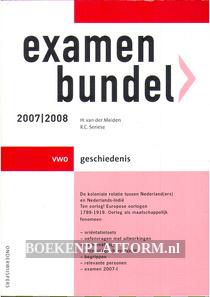 Examenbundel VWO Geschiedenis