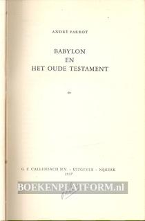 Babylon en het oude testament